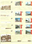 Année 2004 : CA118-CA127/BK118-BK127 - Autrefois ... Et Maintenant - Cartes Postales [1951-..]