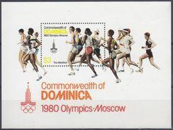 DOMINICA 1980 Nº HB-62 NUEVO - Dominique (1978-...)