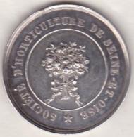 Médaille Argent, Société D'Horticulture De La Seine Et Oise. VERSAILLES 7 AVRIL 1840 - Non Classés