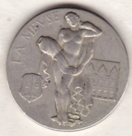 Médaille La Meuse LIEGE 1939 Exposition Internationale De La Technique De L'Eau , Par M. RENARD - Unclassified