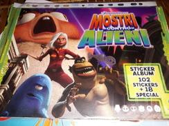 MOSTRI CONTRO ALIENI Album Vuoto - Stickers
