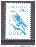 2005. Kyrgyzstan,  Definitive, Bird, Falcon, 0.50, Perforated, Mint/** - Kyrgyzstan