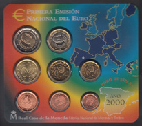 SPAIN  EURO SET 2000 BU - Espagne