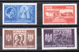 Serie De Rumania N ºYvert 657/60 (**) - 1918-1948 Ferdinand, Charles II & Michael