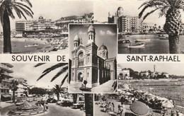 Carte Postale Des Années 50 Du 83 - Saint Raphaël - Vues Multiples - Saint-Raphaël