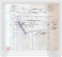 69 - 1465 LYON RHONE 1837 Porcelaine Cristaux Faience GELOT - SACHE ( SachÂŽ ) Verrerie 1 Puits Guillot ˆ DELAYE - 1800 – 1899