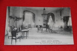 75 Paris Hotel Astoria Un Salon De Reception Et Lecture NV - Unclassified