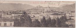 M097  BRESCIA PANORAMA FORMATO PICCOLISSIMO CM 14 X 5  ANNO 1920 CIRCA - Brescia