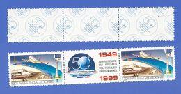 NOUVELLE CALEDONIE PA 347 NEUF ** CINQUANTENAIRE 1er VOL PARIS NOUMEA - Airmail