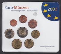 GERMANY  EURO SET 2002 BU - Germany