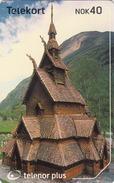NORWAY - Borgund Stave Church N243, 04/02, Tirage 70.000, Used - Norway