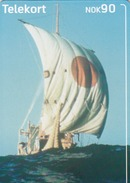 NORWAY - Ra Sailing Ship N254, 10/02, Tirage 30.000, Used - Norway