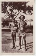 Afrique Occidentale  Française - HAUTE VOLTA - Jeune Couple Lobi ( Femme Seins Nus ) - Burkina Faso