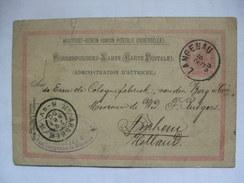 AUSTRIA - 1900 Postcard - Langenau (Bohmen Now Germany) To Arnhem Netherlands - Text Censored - 2 Scans - Covers & Documents