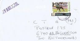 Ghana 2006 World Cup Germany Football Qualifying Match Against Burkina Faso C5000 Cover - Ghana (1957-...)