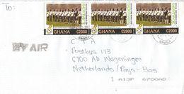 Ghana 2006 World Cup Germany Football Black Stars National Team C2000 Cover - Ghana (1957-...)