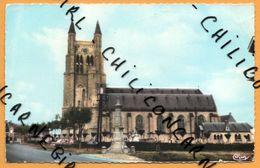 Loker - Locre - Kerk - L'Eglise - Cimetière - Vieille Voiture - CIM - 1964 - Colorisée - Heuvelland