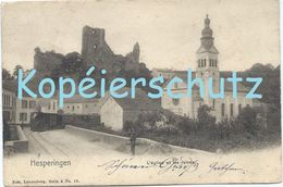 Hesperingen (Hesper) - L'Église Et Les Ruines (Nels) - Cartes Postales