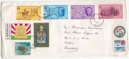 Seychelles 1980 - Letter Travel From Victoria To Sofia/Bulgaria - Seychellen (1976-...)