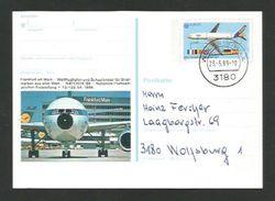 BRD 1988  Mi.Nr. 1367, EUROPA CEPT -Transport- Und Kommunikationsmittel-Ganzsache - SS Wolfsburg -gestempelt / Used /(o) - Europa-CEPT