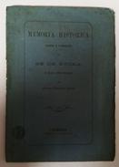 EVORA -MONOGRAFIAS -«Memória Historica Sobre A Fundação Da Sé De Evora» (Autor: António Francisco Barata- 1876) - Books, Magazines, Comics