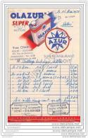 16 474 ANGOULEME CHARENTE 1958 Huiles Essence YVES CHABOT Rte De Bordeaux - PublicitÂŽ HUILE OLAZUR - 1950 - ...