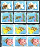 A11-56-8) DDR - 3x Michel 3295 / 3298 - ** Postfrisch (B) - Die Biene - [6] Democratic Republic