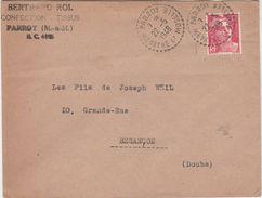 Enveloppe Commerciale 1948 / Bertrand ROL / Confection / 54 Parroy / Meurthe Et Moselle - Maps