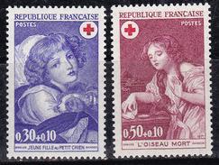 France 1971 N°Y.T. : 1700 Et 1701 ** - France