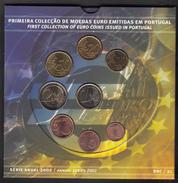 PORTUGAL  EURO SET 2002 BU FOC - Portugal
