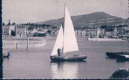 POSTAL SUIZA - LE TOUR DE LAC - GENEVE - R. DROZ - GE Genf