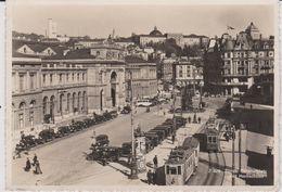 Suisse : ZURICH  1937 , Gare - Tramway - ZH Zurich
