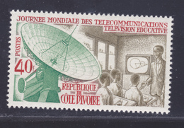 COTE D'IVOIRE N°  302 ** MNH Neuf Sans Charnière, TB (D4178) Journée Mondiale Des Télécommunications - Ivory Coast (1960-...)