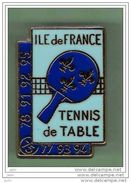 TENNIS DE TABLE *** ILE DE FRANCE *** Signe ES FRANCE *** A002.... - Table Tennis