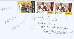 Ghana 2006 Kumasi World Cup Football Germany Stephen Appia C2000 C4000 Express Cover - Ghana (1957-...)