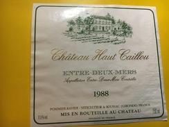 6405 - Château Haut Caillou 1988 Entre-deux-Mers - Bordeaux