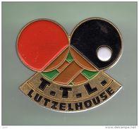 TENNIS DE TABLE *** T.T.L. LUTZELHOUSE *** A002.... - Table Tennis