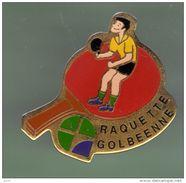 TENNIS DE TABLE *** RAQUETTE GOLBEENNE *** A002.... - Table Tennis