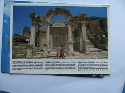 Turkije Turkey Ephesus Temple Of Hadrian - Turkije