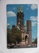 Duitsland Deutschland Berijn Berlin Gedächtniskirche Und Viele Leute - Duitsland