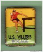 TENNIS DE TABLE *** U.S VILLERS BLOCAGE *** A002.... - Table Tennis