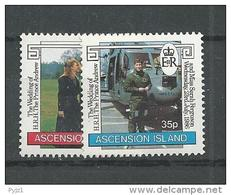 1985 MNH Ascension, Postfris** - Ascension (Ile De L')