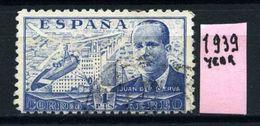 SPAGNA - Year 1939 - AEREA - Usato - Used - Utilisè - Gebraucht. - Usati