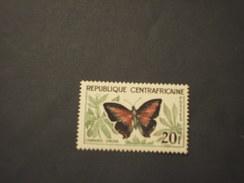 CENTRAFRICAINE - 1960/1 FARFALLA  20 F. - NUOVO(++) - Repubblica Centroafricana