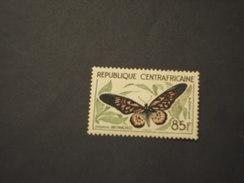 CENTRAFRICAINE - 1960/1 FARFALLA  85 F. - NUOVO(++) - Repubblica Centroafricana