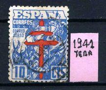 SPAGNA - Year 1941 - AEREA - Usato - Used - Utilisè - Gebraucht. - Usati
