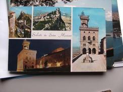 San Marino Saluti Da Several Views - San Marino