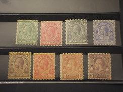 TURKS CAICOS - 1912/28 RE  8 VALORI - NUOVI((+)(US)) - Turks E Caicos