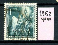 SPAGNA - Year 1952 - AEREA - Usato - Used - Utilisè - Gebraucht. - Usati
