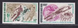 HAUTE-VOLTA AERIENS N°   78 & 79 ** MNH Neufs Sans Charnière, TB (D4191) Coupe Du Monde De Football Au Mexique - Haute-Volta (1958-1984)